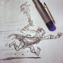 More doodling  #sketch #sketchbook #draw #drawing #doodle #illustration #design #characterdesign #pe