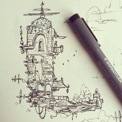 Another doodle #concept #conceptart #design #visualdevelopment #draw #drawing #art #artist #animatio