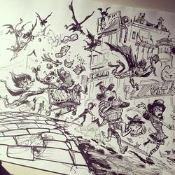 yesterdays sketch #sketch #inktober #draw #drawing #sketchbook #art #concept #conceptart #illustrati