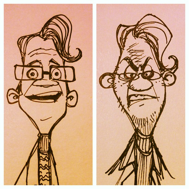 #character #characterdesign #inventor #doodle #design #draw #drawing #illustration #animation