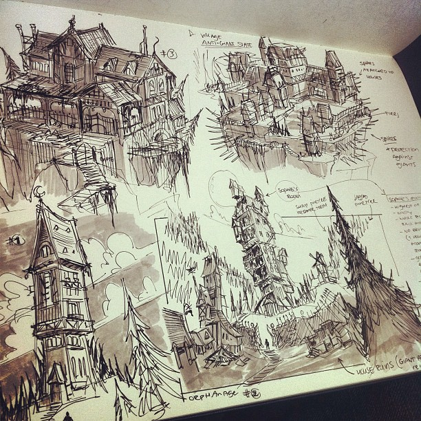 More idea sketches for my project