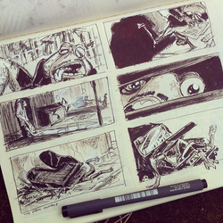 Another sketchbook page ;) #toadmaffia #sketch #sketchbook #cool #art #doodle #doodles #illustration