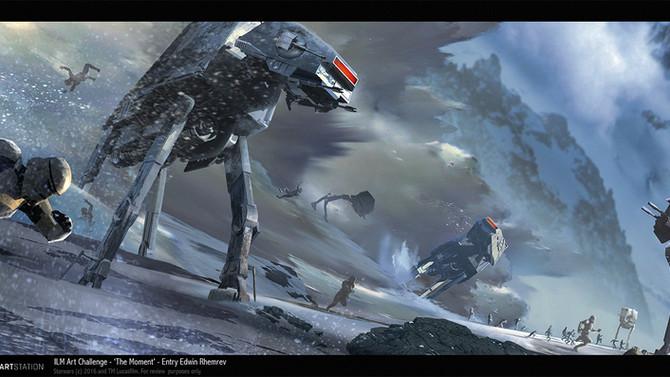 ILM Art Challenge - Star Wars