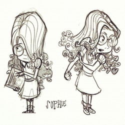 Characterdesigns for my personal project _) #sketch #sketchbook #illustration #draw #drawing #animat