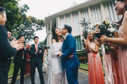 Singapore Wedding day