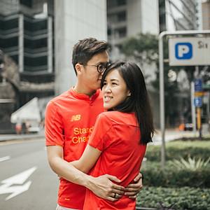Suan & Shao @ Singapore