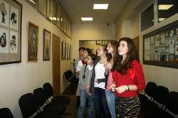 Посещение выставки в университете