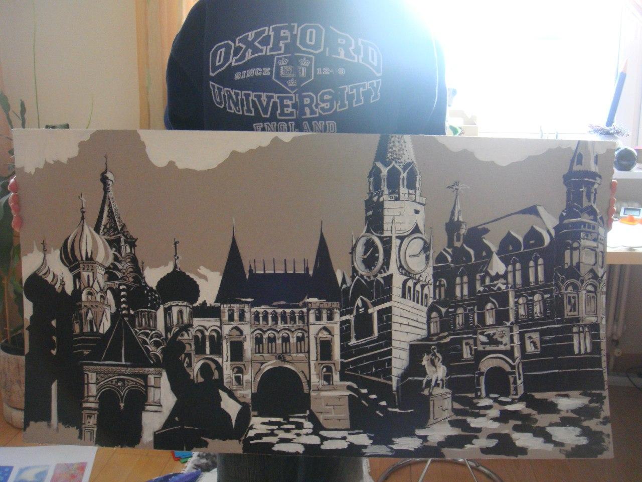 Плакатная графика - Москва