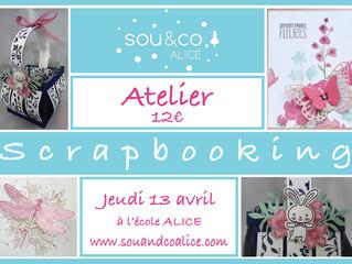 Atelier Scrapbooking- Pâques