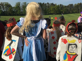 Un carnaval...'au Pays des Merveilles'!