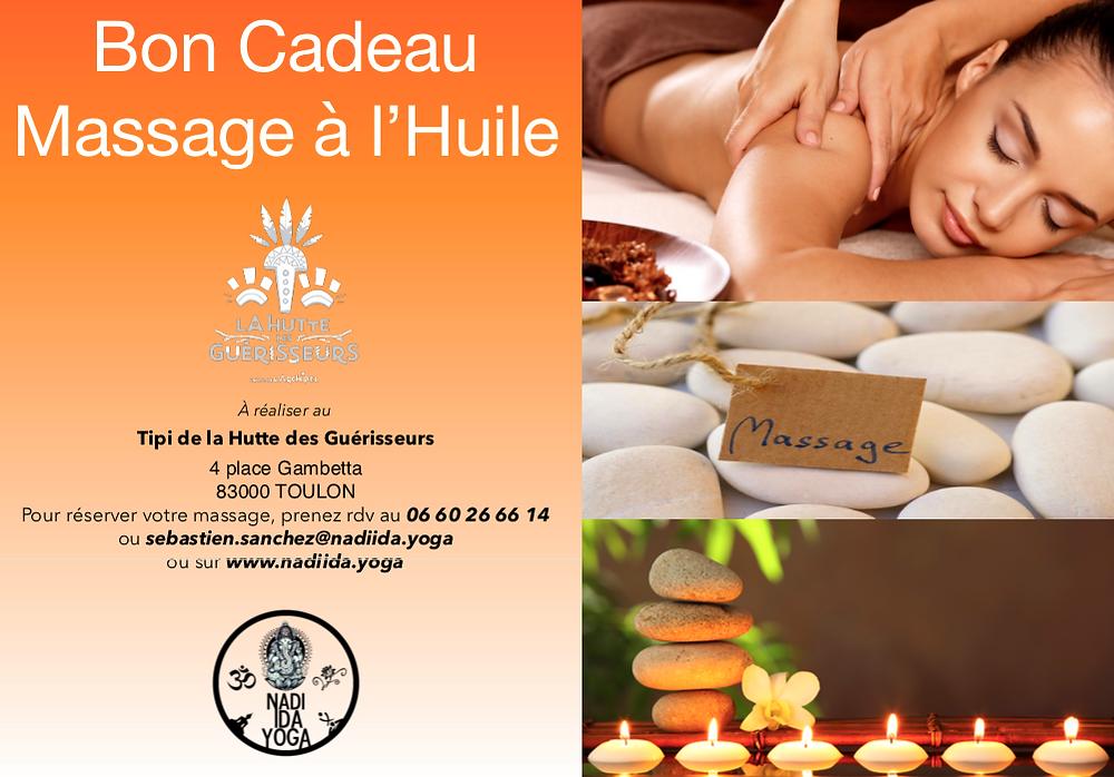 Bon Cadeau - Massage