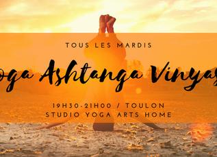 Nouveau Cours de Yoga sur Toulon !