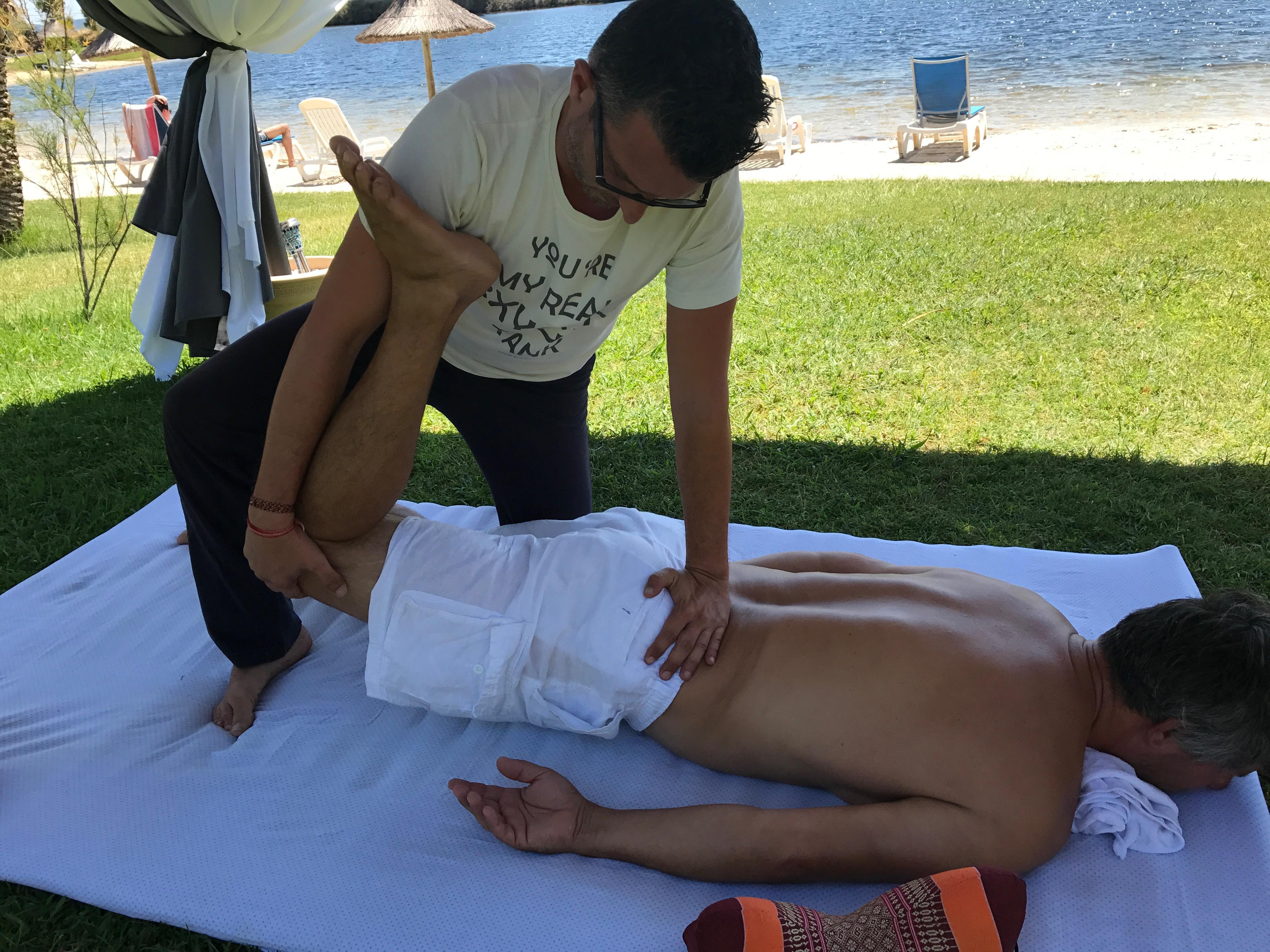Massage Thaï à l'hôtel Plein-Sud