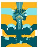 Logo de la Hutte des Guérisseurs