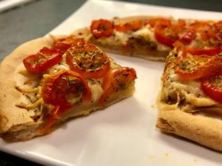 Les Recettes Végé de Tata Ida / Tartelette à la Tomate