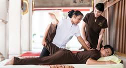Étirement Massage Thaï, école WatPo