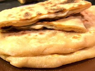 Les Recettes Végé de Tata Ida / Le Cheese-Naan