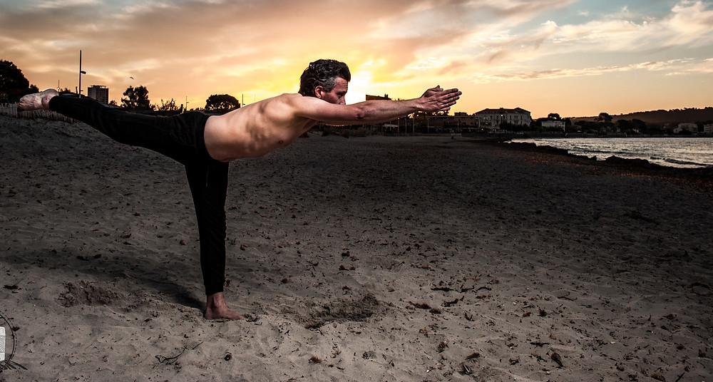 Cours de Yoga, Plages du Mourillon, Toulon
