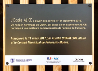 Inauguration officielle d'ALICE