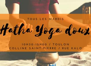 Nouveau Cours de Yoga sur Toulon-Ouest !