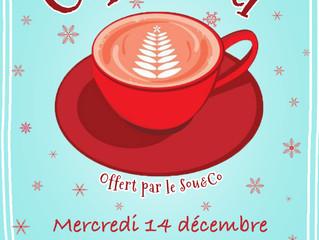 Le Sou&Co vous offre le café avant Noël!