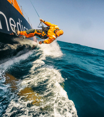 Leg 3 to Sanya during the 2014-15 Volvo Ocean Race