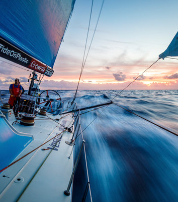 Leg 4 from Melbourne to Hong Kong during the 2017-18 Volvo Ocean Race