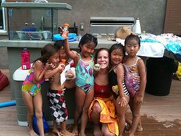 group swim lessons | in home swim lessons | swim lessons | group swim