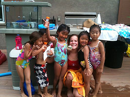 group swim lessons, in home swim lessons, swim lessons