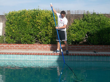 pool cleaning, basic pool cleaning, full pool cleaning package
