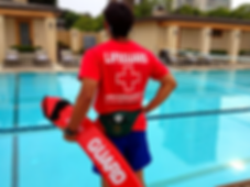 Lifeguard for country clubs, lifeguards for pool parties,