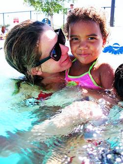 Group swim lessons or private swim lessons