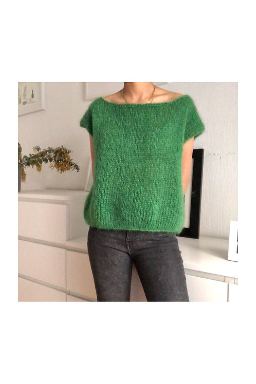 Pull sans manches Oversize