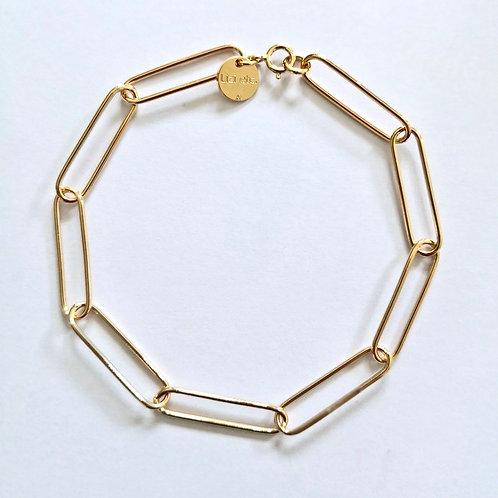 Bracelet chaîne rectangle Lizi etc.