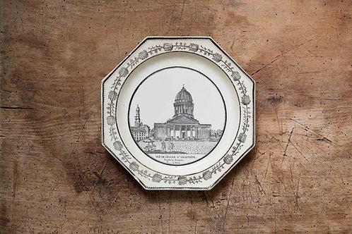 ショワジー 19世紀 オクトゴナルプレート