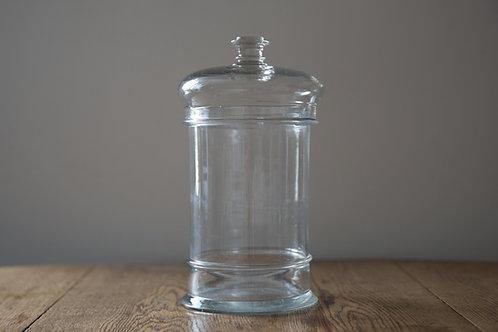 アンティークガラス キャニスター B