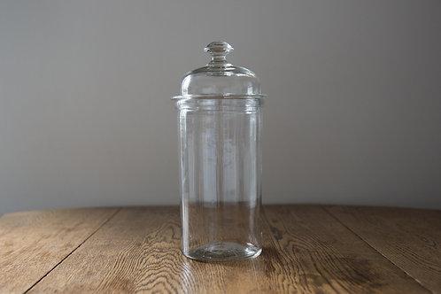 アンティークガラス キャニスター A