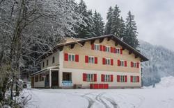 Hollandheim in de winter
