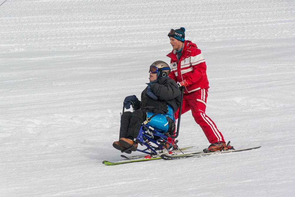 Samen skiën