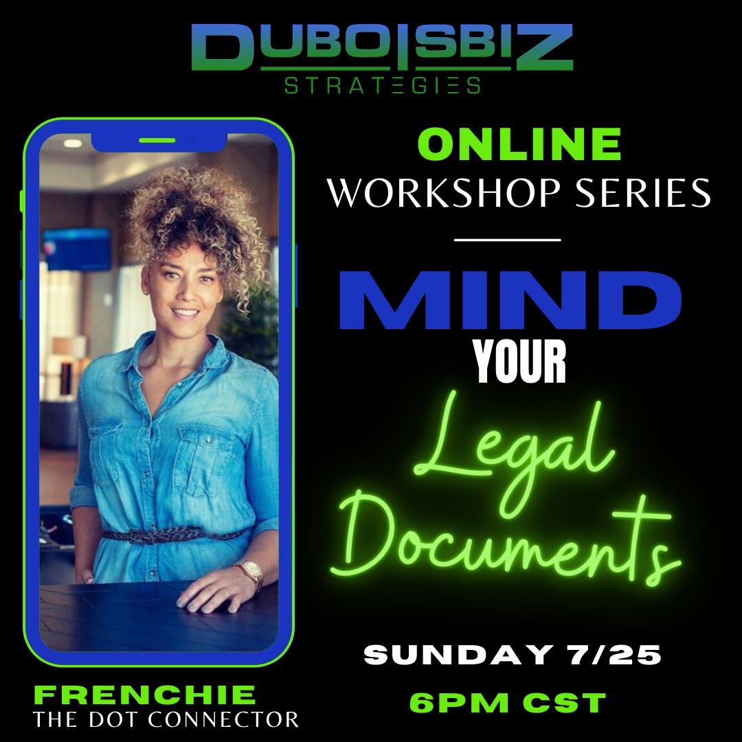 MIND YOUR LEGAL DOCUMENTS - Workshop