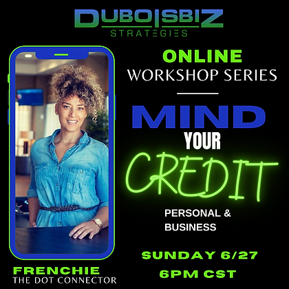 MIND YOUR CREDIT (Personal + Business)