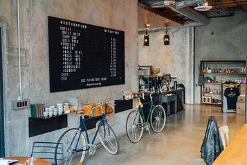 Bicycle Coffee bar