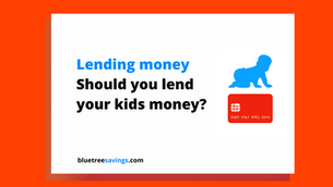 Should you lend your kids money?