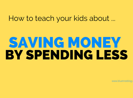 'Saving money by spending less'       Don't miss the critical step!