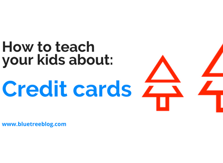 How to teach your kids about: Credit Cards