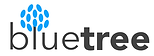 Blue tree logo