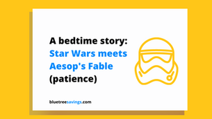 Star Wars meets Aesop's fable to teach kids about money