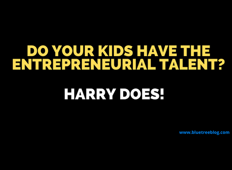 Do your kids have the entrepreneurial talent? Let's meet Harry the kid entrepreneur