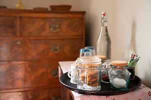 China Farm Barn Bed & Breakfast Canterbury, tea coffee