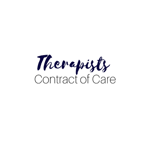 Therapy Contract of Care